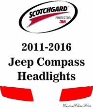 3M Scotchgard Paint Protection Film 2011 2012 2013 2014 2015 2016 Jeep Compass