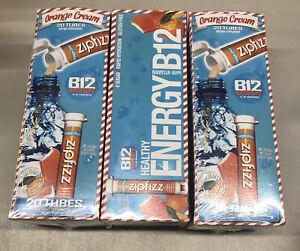"(3) Zipfizz Healthy Energy Drink Mix B12 & Multi Vitamins Orange Cream ""READ"""