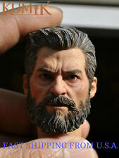 1/6 Wolverine Head w/ neck Old Hugh Jackman For Logan X-men ❶USA❶ IN STOCK