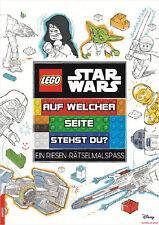 Fachbuch LEGO® Star Wars™ Auf welcher Seite stehst du?, Riesen-Rätselmalspaß