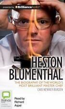 Heston Blumenthal by Chas Newkey-Burden (2012, CD, Unabridged)