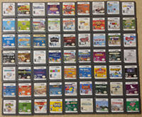 Lot of 5 RANDOM Nintendo DS Lite 2ds 3ds Kids Family Fun Games Tested & Working