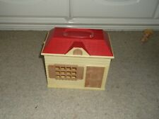 EPOCH SYLVANIAN FAMILIES SINGLE STOREY OPENING HOUSE + FURNITURE PEOPLE