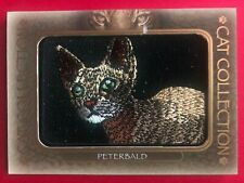 2020 Upper Deck Goodwin Champions Cat Collection Patch PETERBALD #FC-18