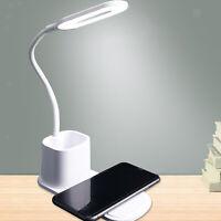 Lampada da scrivania a LED pieghevole per la cura degli occhi con caricabatterie