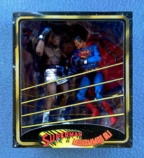 SUPERMAN VS. MUHAMMED ALI IN BOXING MATCH 7 INCH FIGURES NECA
