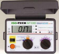 Tester per elettroinstallazioni ISO-TECH IMT3300 Electrical Tester
