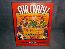 STIR CRAZY - THE SANE WAY TO ENTERTAIN - DINNER PARTY MEXICAN COOKING GAME - NEW