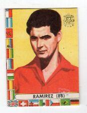 figurina - CALCIATORI CILE LAMPO 1962 - NUMERO 88 CILE RAMIREZ