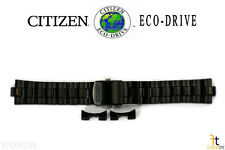 Citizen Eco-Drive AW1145-58E 22mm Black Ion Plated Stainless Steel Watch Band