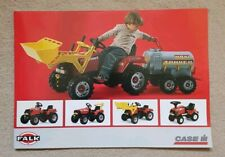 CASE/IH FALK RIDE-ON TRACTOR CATALOGUE - A4 SIZE