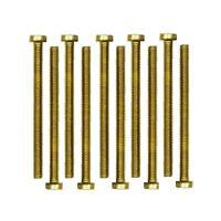 Drahtstift Halbrundkopf 1.6x16 Messing blank