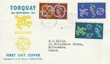 More details for 18 september 1961 cept - kelly first day cover torquay conference slogan cancel