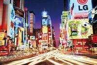 New York : Times Square - Maxi Poster 91.5cm x 61cm new and sealed