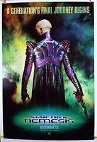 Star Trek Nemesis (Advance) 2002 Original Movie Poster 27x40 Rolled Double-Sided