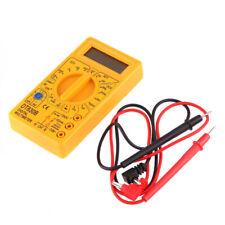 Portable Digital Multimeter Electronic Tester Meter Universal Tester Leads