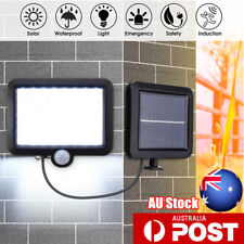 Solar 56 LED PIR Motion Sensor Wall Floodlight Outdoor Garden Security Spot  R