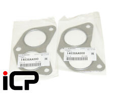 2x Genuine Exhaust Manifold Header Gasket 14038AA000 Fits: Subaru