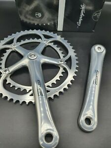Chainset – Lovely Campagnolo Record Titanium 10 speed, 53 / 39 , Stunning, 172.5