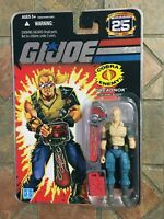 GI JOE BUZZER 25th Anniversary figure Renegades POC ROC 50th Cobra Dreadnok