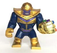 Marvel Avengers Thanos Infinity Fist Custom Mini Figure Big Super Hero Fits Lego