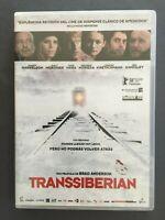DVD TRANSSIBERIAN Woody Harrelson Emily Mortimer Eduardo Noriega BRAD ANDERSON