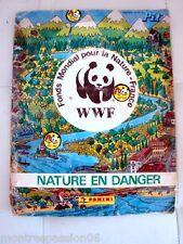 ALBUM PANINI WWF NATURE EN DANGER PIF  VINTAGE 1988