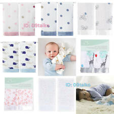 Aden and Anais Issie Security Blanket Baby Toddler Comforter Blankie 9 design