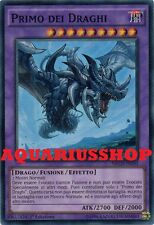 Yu-Gi-Oh Primo dei Draghi NECH-IT050 SuperRara ITA First of the Dragons Fortissi