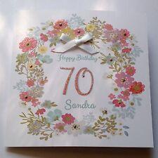Personalised Birthday Card Sister Mum 40th 50th 60th 70th 80th 90 100