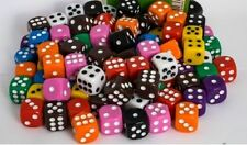 Pack of 5 spotted dice D6