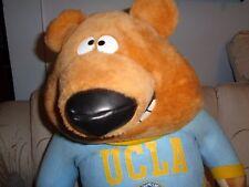 "BIG PLUSH DOLL FIGURE 19"" UCLA BRUINS UNIVERSITY OF CALIFORNIA MASCOT JOE BEAR"