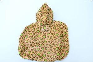 Martha Stewart Leopard Print Dog Rain Coat (XS)