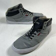 Vans Shoes Men Sz 15  Bedford OTW Off The Wall Skateboard Sneakers Leather Gray