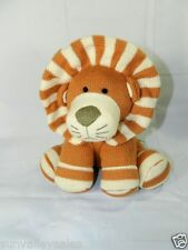 Circo Brown Knot Lion Soft Baby Crib Toy Stripe Mane & Paws