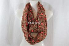 Bueaty Fashion Soft Smoth Light Weight Leopard Infinity Scarf