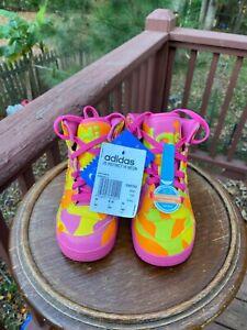KIDS BABY SIZE 9K Adidas Jeremy Scott NEON MULTICOLOR G95752 Authentic KIDS