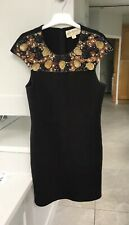 Needle & Thread Size 8 Embellished Cocktail Dress Black Excellent Condition