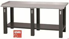 USAG 506 A2/2000 Banco da Lavoro con Piano in Acciaio