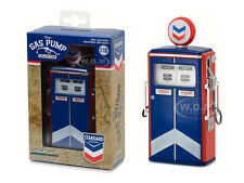 1954 TOKHEIM 350 TWIN GAS PUMP STANDARD OIL REPLICA 1/18 BY GREENLIGHT 14010 C