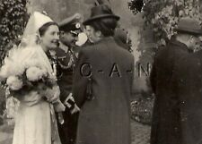 WWII German Army RP- Soldier- Wedding- Frau- Wife- Bride- Big Bouquet of Flowers