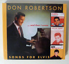 """Neu OVP CD Elvis: DON ROBERTSON """"And Then I Wrote Songs For Elvis"""" BEAR Family"""