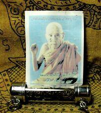 Tahrud Phra LP Kui Takrut Buddha Thai Amulet Charm Sex Love Protect Pendant Old