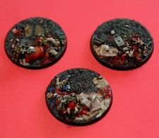 Slaughter 60mm Heavy Weapon Emplacement Bases (3) Player Created Custom Chaos