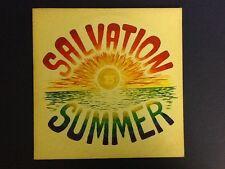 SALVATION SUMMER 1975 ~ Poverty RECORDS all ORIGINAL (LP) Nm / (JACKET) Ex