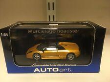 Autoart 1:64 Lamborghini Murcielago Roadster Oro
