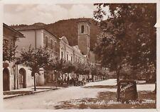 TAGLIACOZZO - Piazza Duca degli Abruzzi - Radio Superla - Foto Cartolina 1942