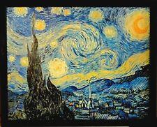 Kunstdruck nach Vincent Willem van Gogh (1853-1890): DIE STERNENNACHT /gerahmt