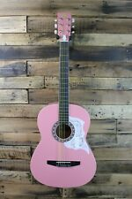 Rogue Starter Acoustic Guitar, Pink! 7/8 size - Needs Repair #R1725