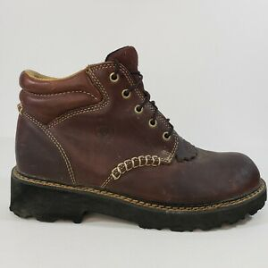 Ariat Canyon Womens Western Lace Up Work Boots Dark Brown 10001254 Size 9 B